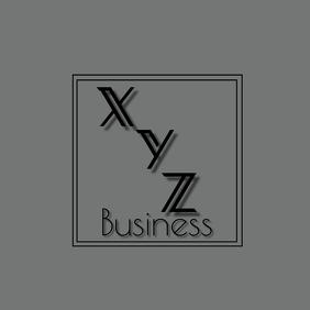 Logo Modern Minimalistic Initials template