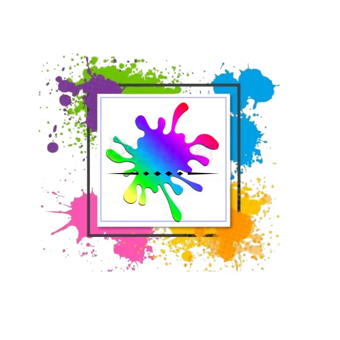 Logo Paint template