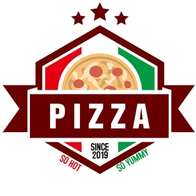 LOGO PIZZA template
