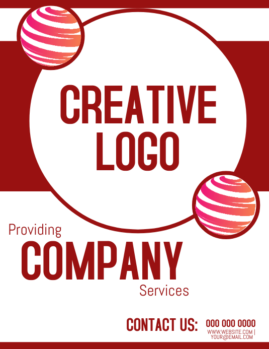 Logo Space Business Company Template