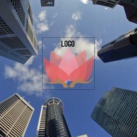 LOGO SPACE FREE DESIGN TEMPLATE DIGITAL