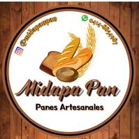 LogoPanaderia Pan bakery madera Logotipo template