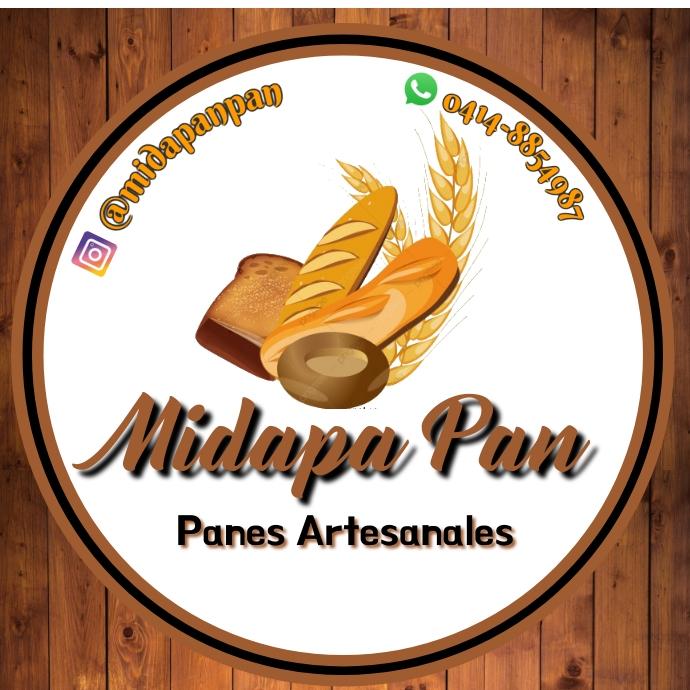 LogoPanaderia Pan bakery madera 徽标 template