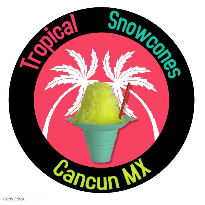 Logos/snowcones/business/branding/marketing 徽标 template