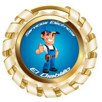 logotipo eléctrico Logotyp template