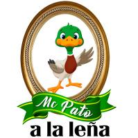 logotipo pato a la leña template