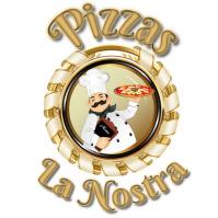 logotipo pizzas โลโก้ template