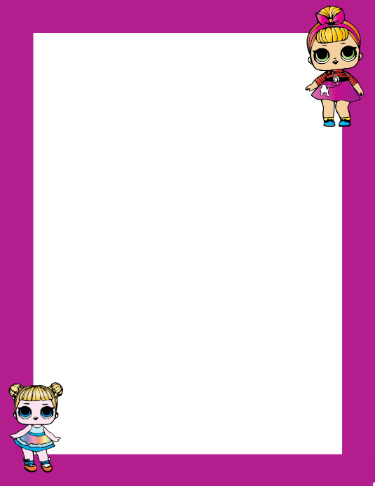 LOL Surprise Photo Frame Template | PosterMyWall