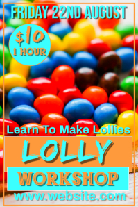 Lolly Making Poster template