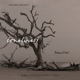 Loneliness Tree CD Cover Template