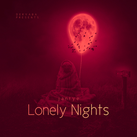Lonely Nights CD Cover Template