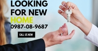 looking for new home real estate template Ibinahaging Larawan sa Facebook
