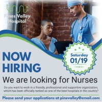 Looking for Nurse Professionals Flyer