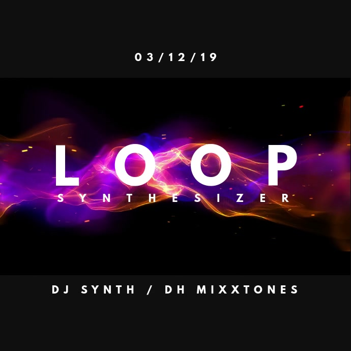 Loop Synthesizer Persegi (1:1) template