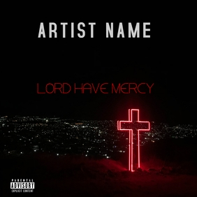LORD HAVE MERCY Album Cover template