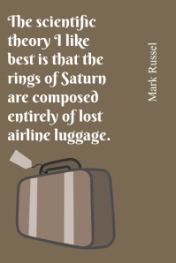 Lost Airline Luggage Quote