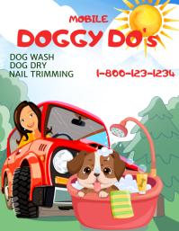 Mobile Pet Wash Volante (Carta US) template