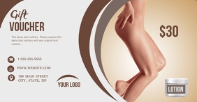 Lotion Gift Voucher