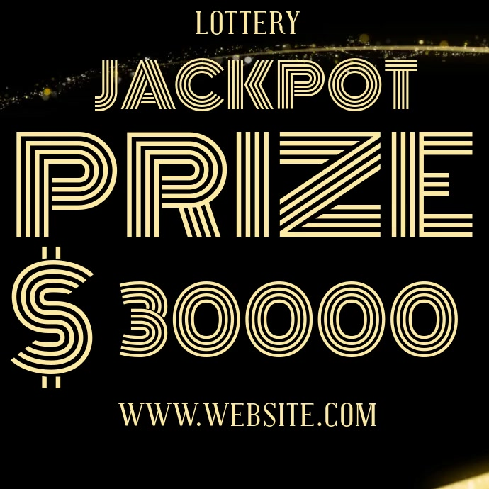 LOTTERY AD DIGITAL VIDEO Wpis na Instagrama template
