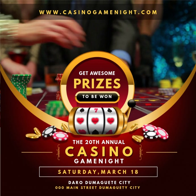 Lottery and Casino Evening Online Ad
