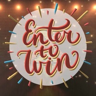 lotto lottery enter to win design template Instagram Post