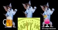 Lounge/#happyhour/bar/restaurant/digital Iklan Facebook template