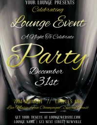 LOUNGE PARTY Event Template