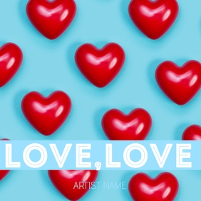 Love,love ALBUM ART template