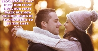 LOVE AND HUG QUOTE TEMPLATE Facebook Ad