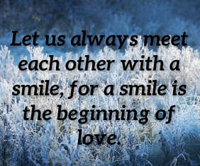 LOVE BEGINNING QUOTE TEMPLATE