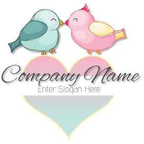 love bird logo tj template