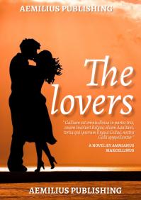 love book cover A4 template