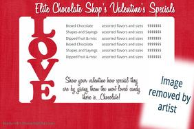 Love Date Night Retail Sales Love flyer dinner dance flyer