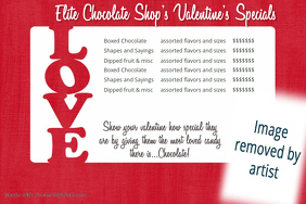 Love Date Night Retail Sales Love flyer dinner dance flyer