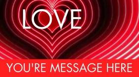 LOVE Digital Display (16:9) template