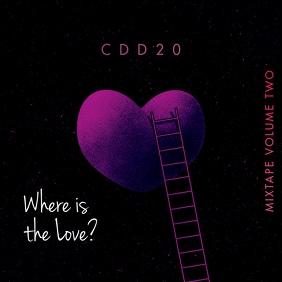 Love Heart CD Cover Music