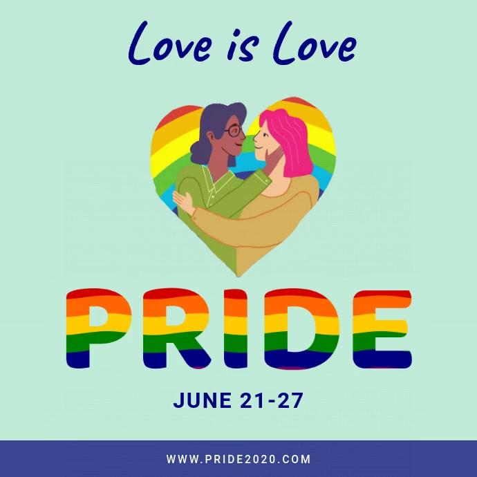 Love is love pride instagram video