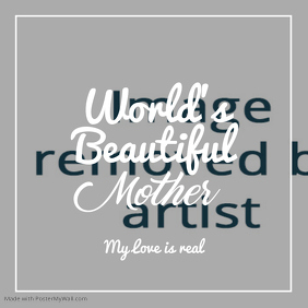 Love Mother's Day Template