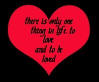Love quote สามเหลี่ยมขนาดกลาง template