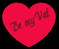 Love quote Medium Rectangle template