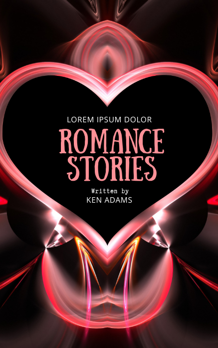 Love Romance Book Cover Template