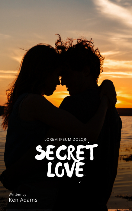Love Romantic Book Cover Template