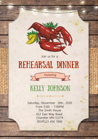 Low country boil party invitation
