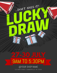 50+ Lucky Draw Customizable Design Templates | PosterMyWall