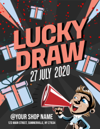 Lucky Draw Flyer