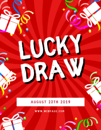 Lucky Draw Flyer Template