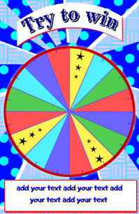 lucky wheel lottery game or show