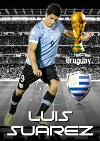 Luis Suarez Poster