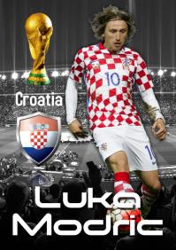Luka Modric Poster