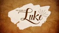 Luke sermon series Цифровой дисплей (16 : 9) template